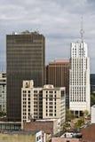 Akron, Ohio - del centro Fotografia Stock