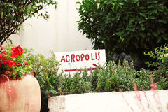 Akropol Obraz Stock