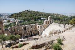 Akropol Ateny Fotografia Royalty Free