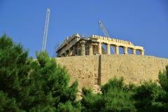 Akropol Ateny Grecja Fotografia Stock