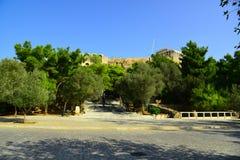 Akropol Ateny Grecja Obraz Stock