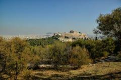 Akropol Ateny Grecja Zdjęcia Royalty Free