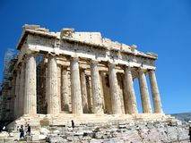 Akropol Ateny, Grecja fotografia stock