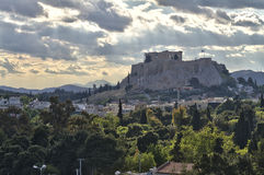 akropol Athens Greece Obrazy Royalty Free