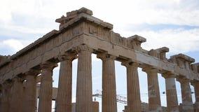 Akropol Athens HD zdjęcie wideo