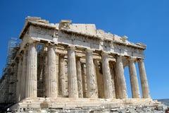 Akropol av Aten, Grekland 2 arkivfoton