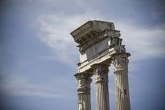 Akropol av Rome Arkivfoto
