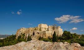 Akropol Grecja Athens Fotografia Royalty Free