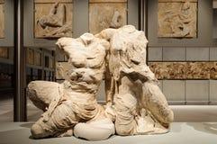 Akropol muzealny Cecrops Pandrosos Zdjęcie Royalty Free