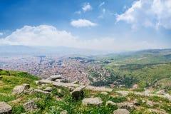 Akropol Pergamum antyczny miasto w Turcja, Zdjęcia Stock
