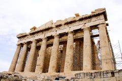 akropolis雅典希腊帕台农神庙 库存图片