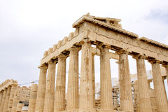 akropolis雅典希腊帕台农神庙 图库摄影