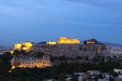Akropolis Stockfotografie