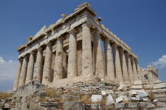 Akropolis Stock Foto