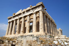 Akropolis royalty-vrije stock afbeelding