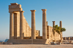 Akropolis Royalty-vrije Stock Afbeeldingen