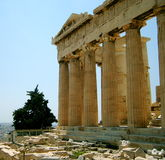 Akropolis Stockfotos