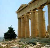 Akropolis Stockfotos
