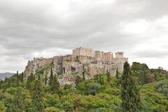 Akropolis Stock Foto's