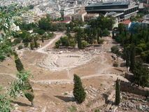 Akropolis Lizenzfreies Stockbild