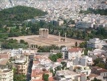 Akropolis Stockfoto