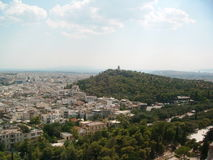 Akropolis Lizenzfreies Stockfoto