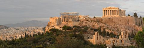 Akropolis Royalty-vrije Stock Foto