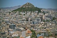 Akropolis-Ansicht Atenas Griechenland Lizenzfreie Stockfotografie