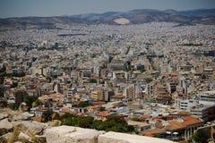 Akropolis-Ansicht Atenas Griechenland Lizenzfreie Stockbilder