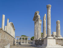 Akropolis antique city Royalty Free Stock Photo