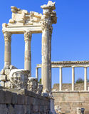 Akropolis antique city, Pergamon Royalty Free Stock Image