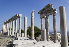 Akropolis antique city, Pergamon Royalty Free Stock Photos