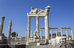 Akropolis antique city, Pergamon Stock Photo