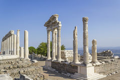 Akropolis antique city, Pergamon Royalty Free Stock Photo