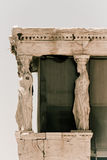Akropolis Atenas Griechenland erecteon Lizenzfreie Stockfotos
