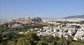 Akropolis a Atene Grecia Immagine Stock