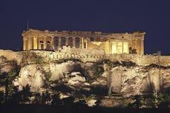 Akropolis Athen Stockfoto