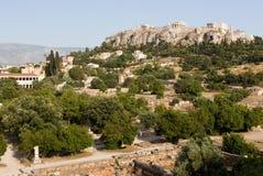 Akropolis, Athen Stockbild