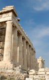Akropolis in Athen Stockbild