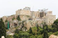 Akropolis in Athen Lizenzfreies Stockfoto
