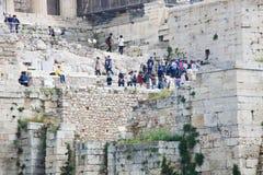 Akropolis in Athen Lizenzfreie Stockbilder