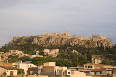 Akropolis in Athen, Griechenland Stockfotos