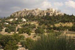 Akropolis in Athen, Griechenland Lizenzfreies Stockfoto