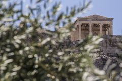 Akropolis, Athen, Griechenland stockfoto