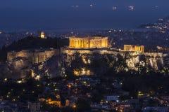 Akropolis, Athen, Griechenland lizenzfreies stockfoto