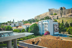 Akropolis in Athen, Griechenland Lizenzfreie Stockfotografie