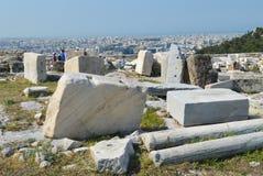 Akropolis in Athen, Griechenland am 16. Juni 2017 Stockfotografie