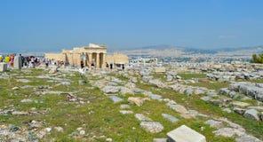 Akropolis in Athen, Griechenland am 16. Juni 2017 Lizenzfreies Stockfoto