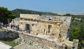 Akropolis in Athen, Griechenland am 16. Juni 2017 Stockfoto