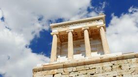 Akropolis, Athen, Griechenland, Timelapse, 4k stock video